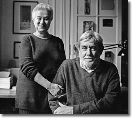 Richard Pevear & wife Larissa Volokhonsky | Translators of Fine Russian Literature